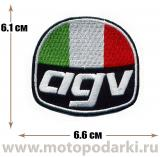Нашивка логотип<br>Patch AGV 6.6см