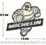 Нашивка логотип<br>Patch MICHELIN 7.4см