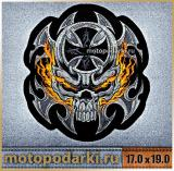 Нашивка на спину<br>BIKERS PATCH#4 17.0 см