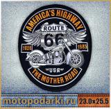 Нашивка на спину<br>BIKERS PATCH#5 23.0 см