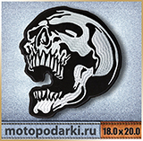 Нашивка на куртку<br>BIKERS PATCH#10 18.0 см