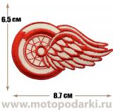 Нашивка спортивная Detroit Red Wings 8,7 см