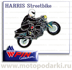 PinCollection значок HARRIS Streetbike