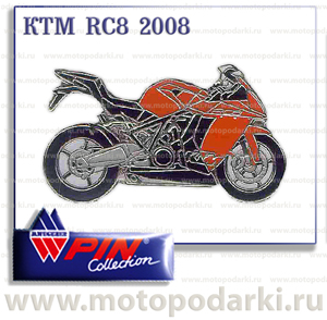 PinCollection значок KTM RC8 2008