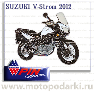 PinCollection значок SUZUKI V-Strom `12
