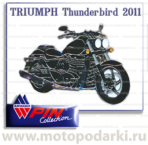 PinCollection значок TRIUMPH Thunderbird 2011