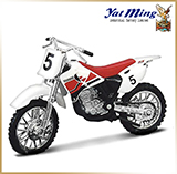 Yat Ming 1:18 <br>Модель мотоцикла<br>Yamaha YZ400F Red