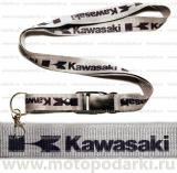 Шнурок для ключей<br>KAWASAKI Grey/Black