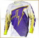 JT Racing<br>Футболка мотокросс<br>2015 HYPERLITE VOLTAGE White-Purple