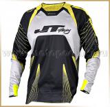 JT Racing<br>Футболка мотокросс<br>PROTEK SUBFRAME Black-Yellow