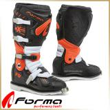 Кроссовые мотоботы FORMA<BR> TERRAIN TX BLACK/ORANGE/WHITE