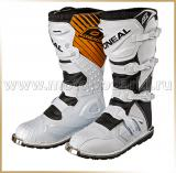 Мотоботы кроссовые<br>ONEAL RIDER BOOT White
